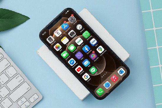 Điện thoại iPhone 12 Pro Max bị lỗi đơ màn hình