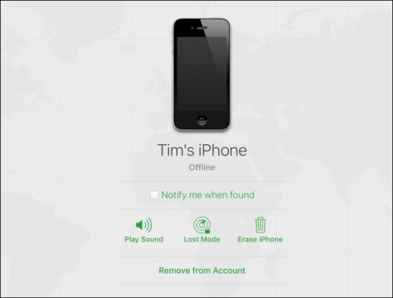 Cách tắt khóa kích hoạt iPhone