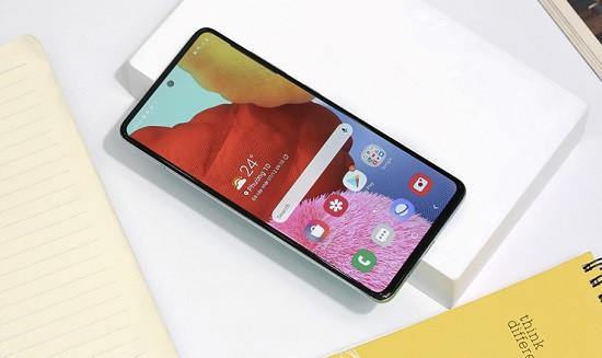 Điện thoại Samsung A51 không tắt được màn hình