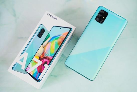 Samsung A71 không nhận sạc