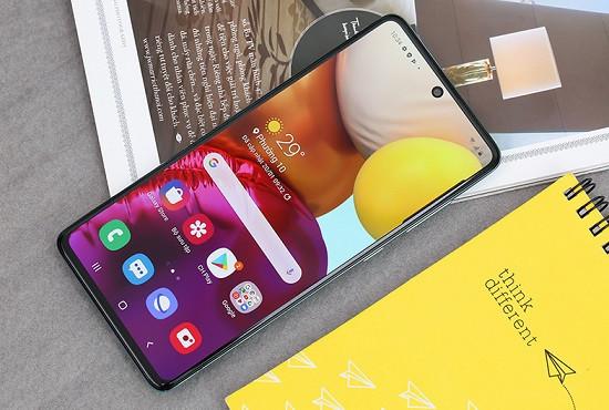 Điện thoại Samsung A71 không tắt nguồn được