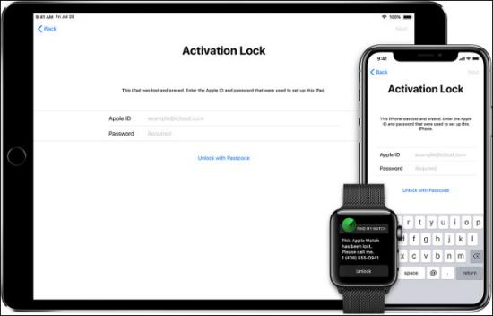Lỗi khóa kích hoạt iPhone
