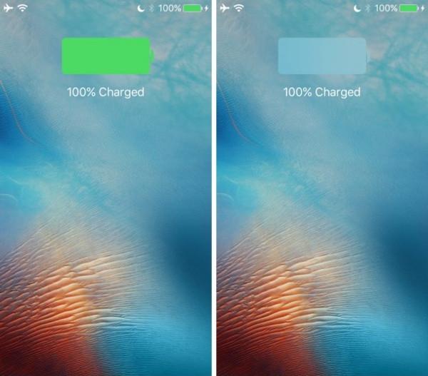 Thay đổi màu pin cho iPhone