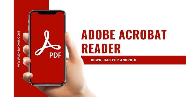 Adobe Acrobat là ứng dụng đọc PDF ổn định