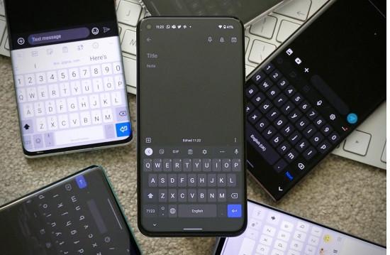 Bàn phím điện thoại Android không hiển thị