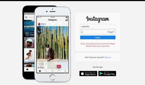 Bạn thử đăng nhập Instagram trên máy tính xem sao