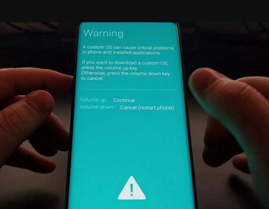 Đưa Samsung về chế độ Download
