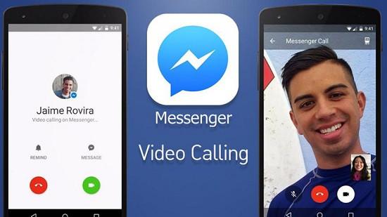 Gọi video trên messenger không thấy hình