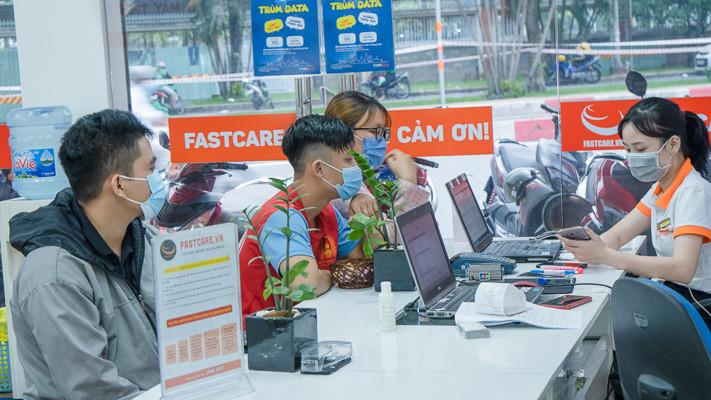 FASTCARE luôn chăm sóc và hỗ trợ khách hàng tận tâm