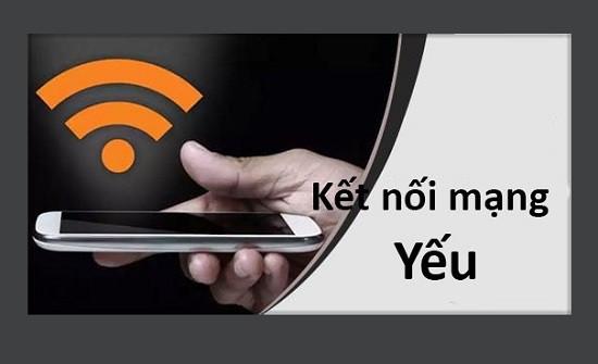 Kết nối mạng yếu