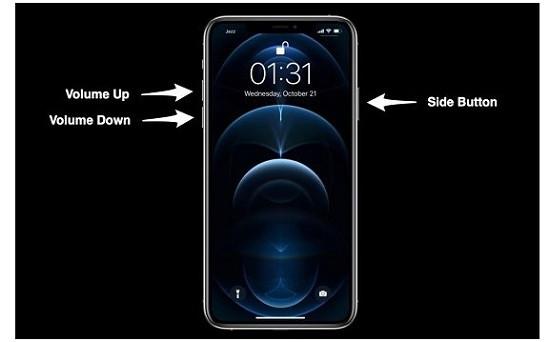 Khắc phục iPhone 12 bị treo máy