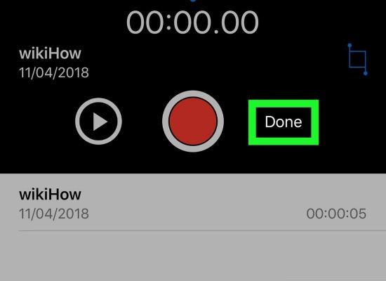 Khôi phục đoạn ghi âm đã cắt trên iPhone
