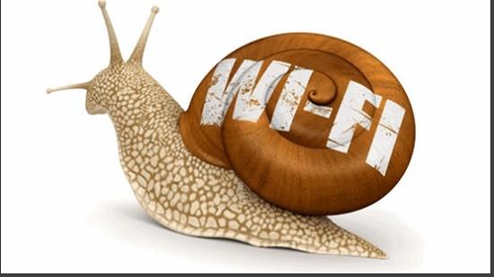 Mạng wifi không ổn định