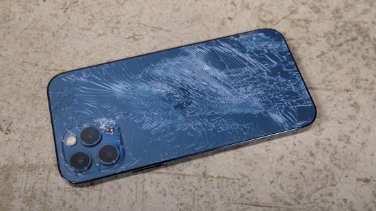 Nắp lưng iPhone 12 Pro bị bể