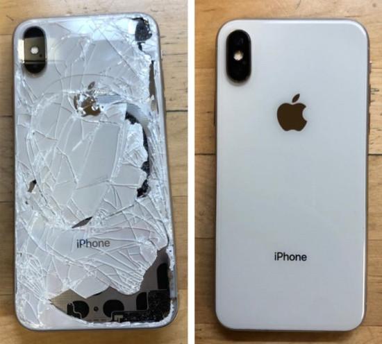 Nắp lưng iPhone Xs Max