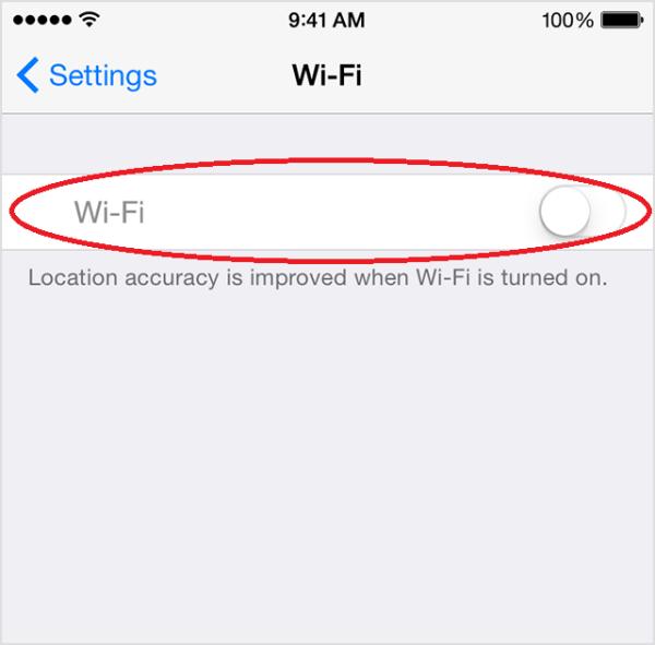 Nút iPhone không bật được trên iPhone