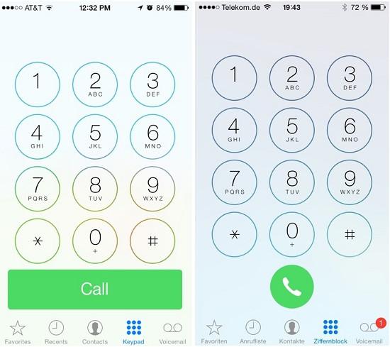 Tắt âm bàn phím khi quay số iPhone