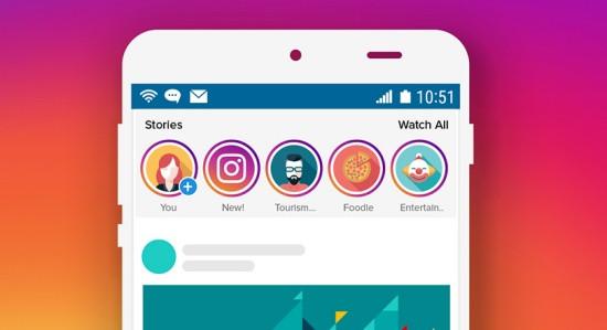 Tính năng Story Instagram