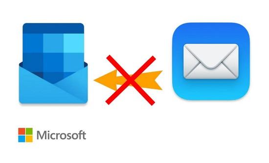 Ứng dụng outlook không nhận được mail trên điện thoại