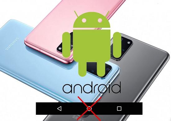 Cách vô hiệu hóa phím điều hướng Android