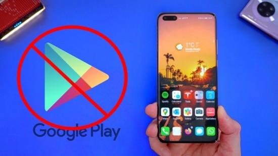 Điện thoại Huawei bị mất CH Play