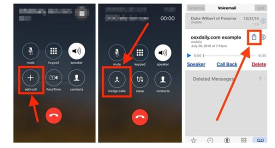 Dùng tính năng Voicemail