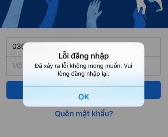 Không đăng nhập được Facebook trên iPhone