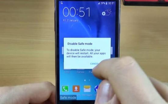 Samsung bị lỗi chế độ an toàn
