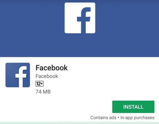 Gỡ và tải lại Facebook