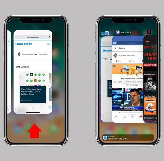 Tắt bỏ các ứng dụng chạy ngầm trên iPhone