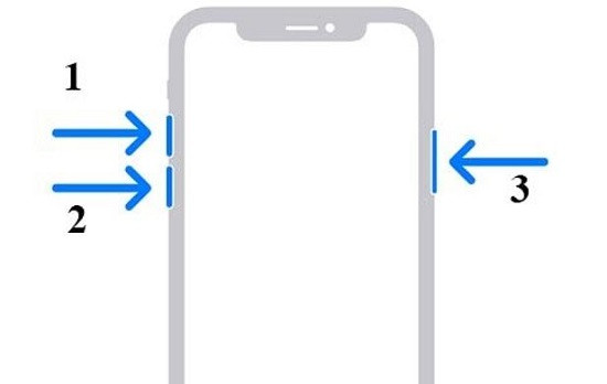 Buộc khởi động lại iPhone 11