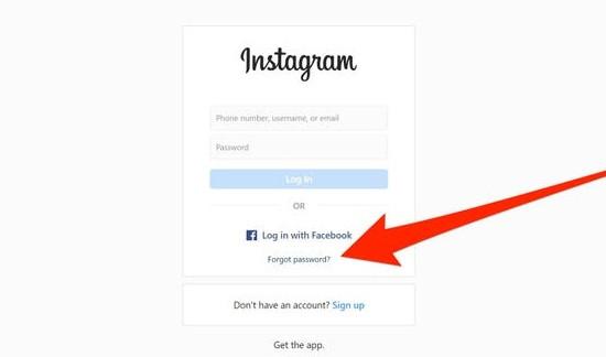 Cách đổi mật khẩu Instagram khi quên mật khẩu cũ