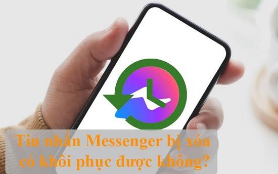 Cách khôi phục tin nhắn messenger bị xóa