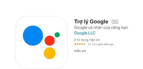 Cài đặt trợ lý ảo Google cho iPhone