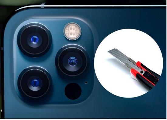 Camera điện thoại iPhone 12 Pro Max có dễ trầy không
