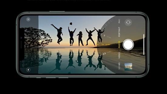 Camera iPhone 11 Pro Max bị vàng