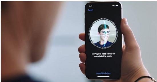 Đặt lại khuôn mặt Face ID iPhone 12 Pro Max