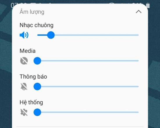 Điều chỉnh âm thanh Samsung