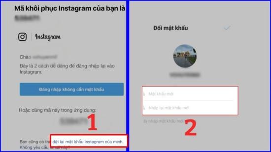 Đổi mật khẩu Instagram trên điện thoại bước 4
