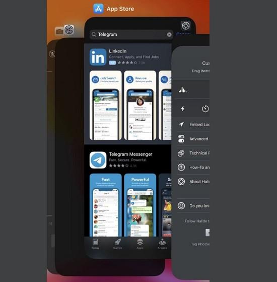 Đóng ứng dụng trên iPhone 11 Pro Max