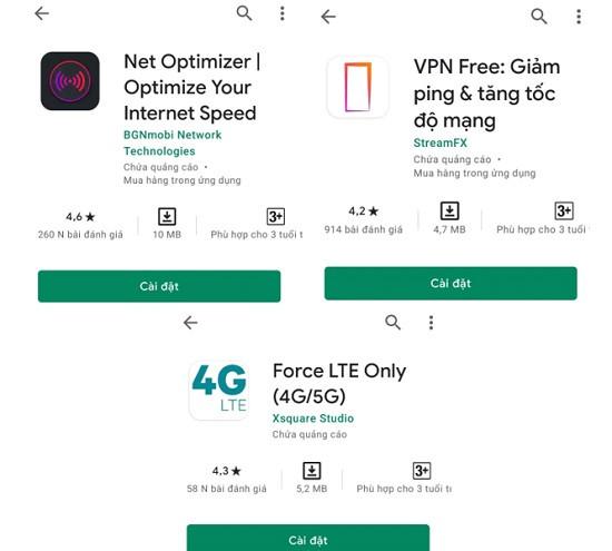 Dùng App tăng tốc độ mạng Xiaomi