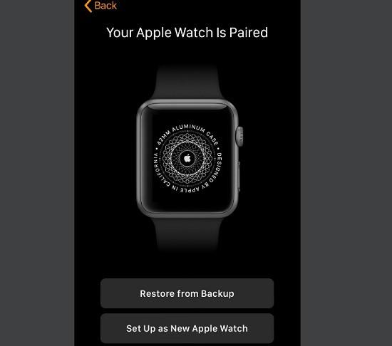 Kết nối iPhone và Apple Watch