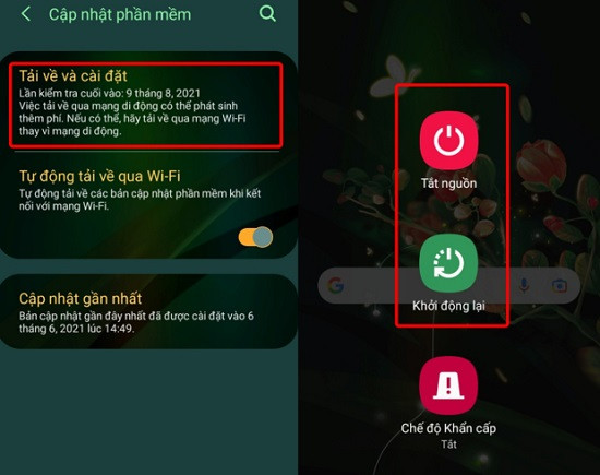 Khắc phục không thay đổi được màn hình khóa Android