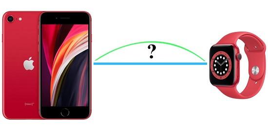 Khoảng cách kết nối iPhone và Apple Watch