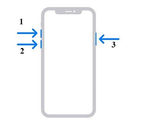 Khởi động lại iPhone 12