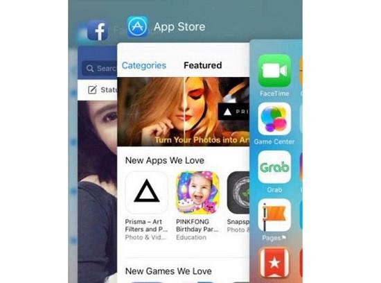 Mở nhiều ứng dụng cùng lúc trên iPhone 11