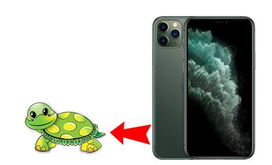 Nguyên nhân iPhone 11 Pro Max bị chậm