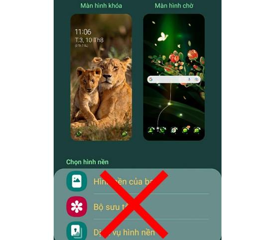 Nguyên nhân không thay đổi được màn hình khóa Android