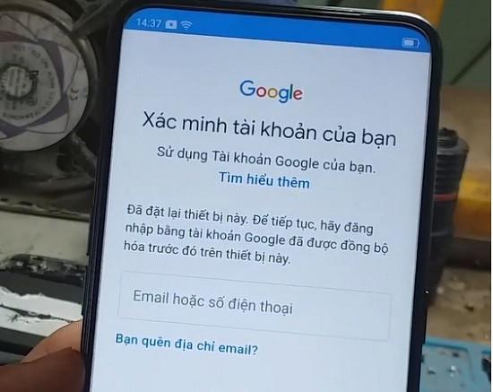 Nguyên nhân Oppo bị khóa tài khoản Google