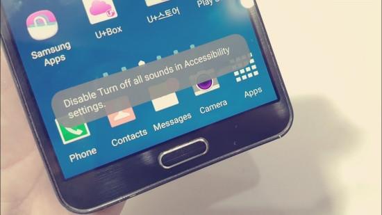 Samsung bị tắt tất cả âm thanh